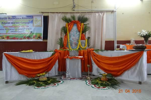 MVM Silchar School Worship Of Good