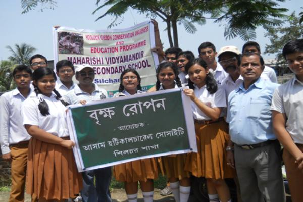 MVM Silchar School Tree Plantation